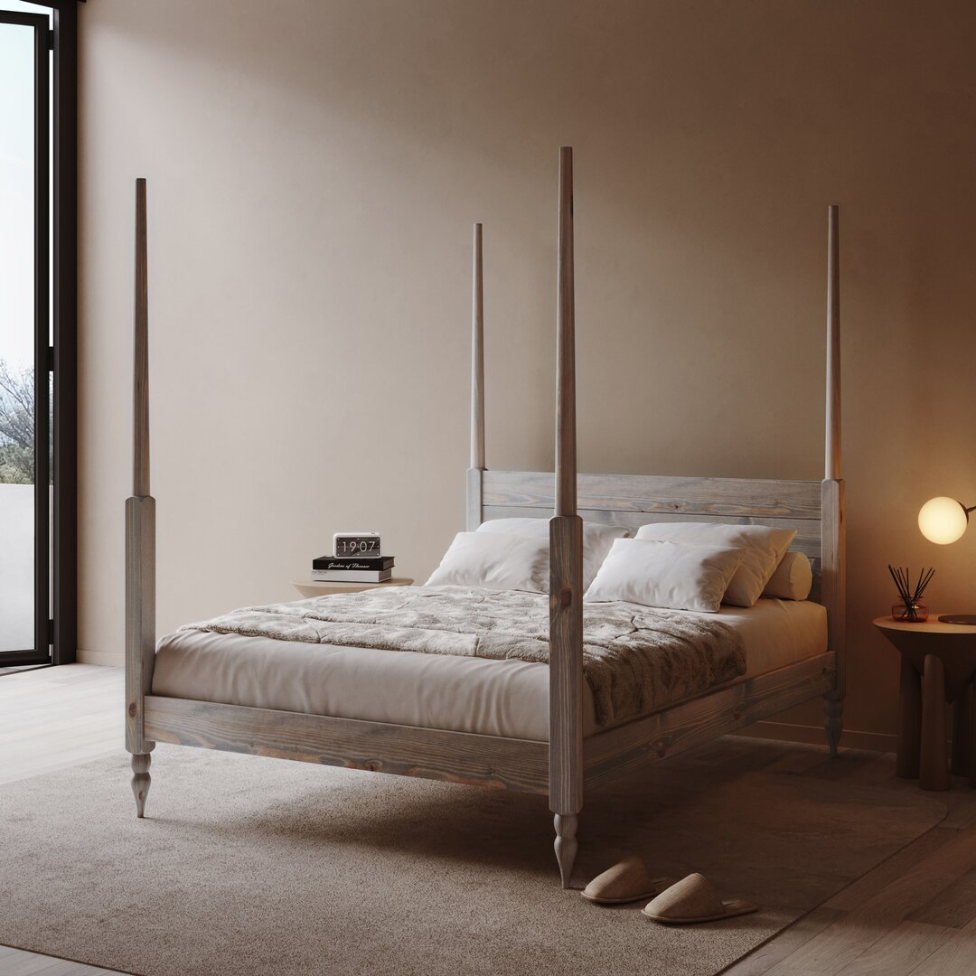 Kazmierski Four Poster Bed
