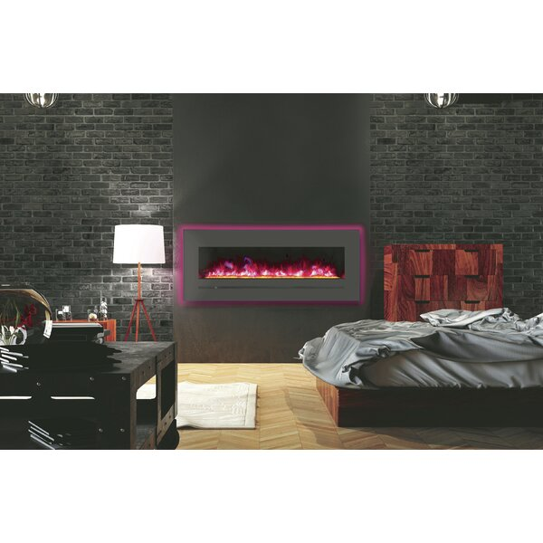 Spiegel Recessed Wall Mounted Electric Fireplace By Orren Ellis
