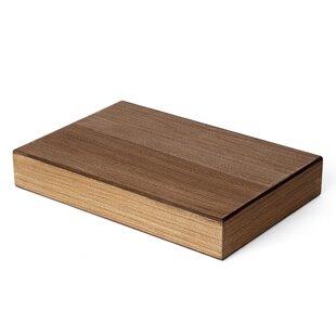 Cassel Wood Veneer Chunky Floating Shelf