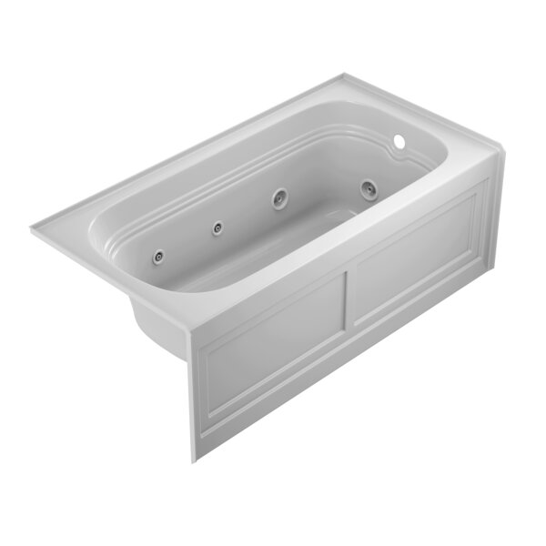 Luxura 60 x 30 Alcove Whirlpool Bathtub by Jacuzzi®