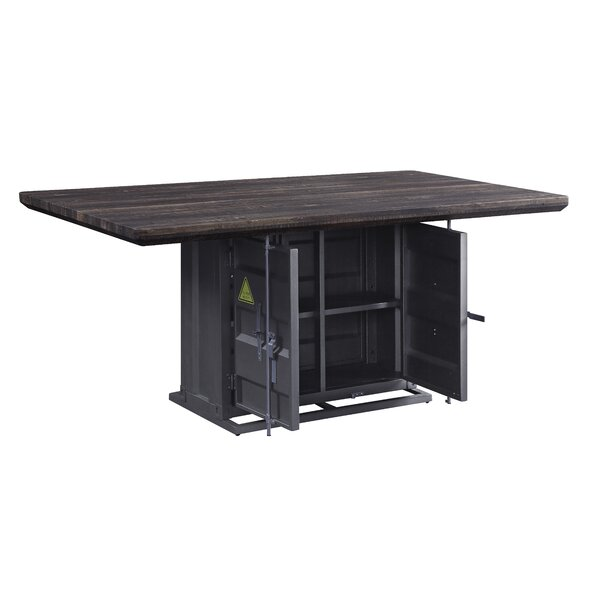 Kaylyn Container Dining Table by Longshore Tides