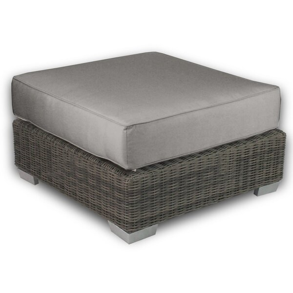 Catalina Outdoor Ottoman with Sunbrella Cushions by Axcss Inc.