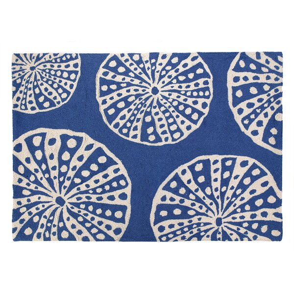 Sea Urchins Hooked Area Rug by Kate Nelligan