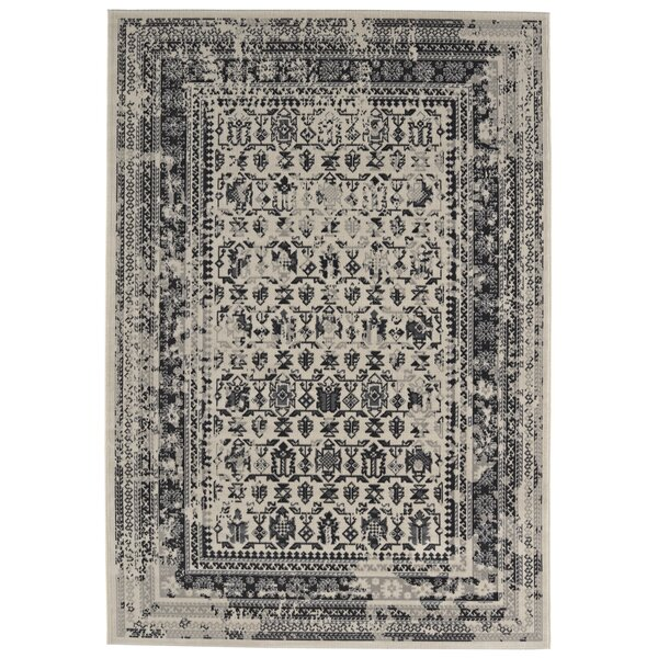 Rarick Black Area Rug by Bungalow Rose