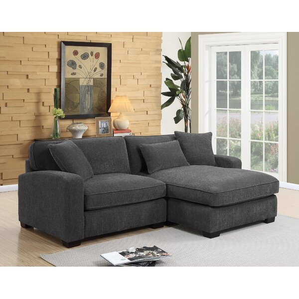 St George Chesterfield Reversible Sectional by Red Barrel Studio