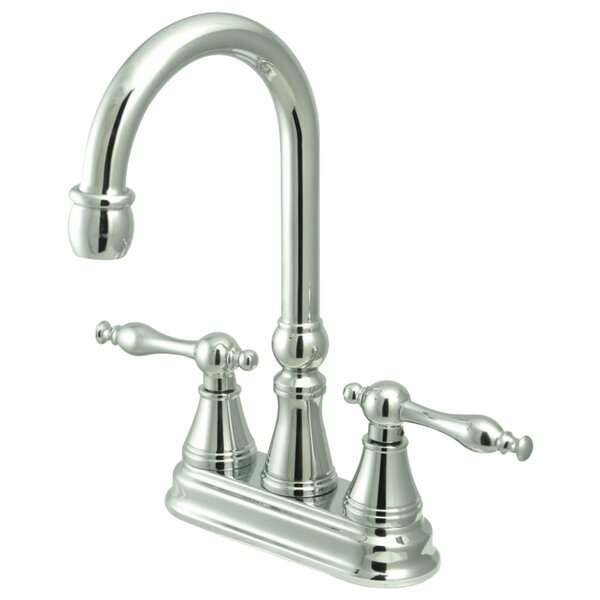 Double Handle Kitchen Faucet by Kingston Brass