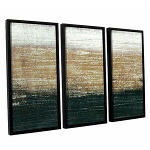 Sandstorm 3 Piece Framed Painting Print on Canvas