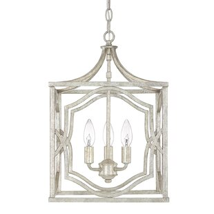 Destrey Traditional 3-Light  LED  Pendant by Willa Arlo Interiors