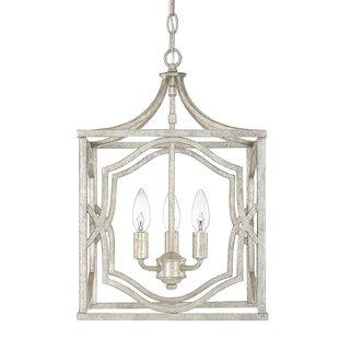 Destrey Traditional 3-Light  LED  Pendant by Willa Arlo Interiors