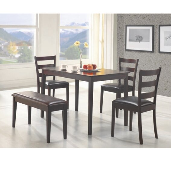 Harting 5 Piece Dining Set by Red Barrel Studio
