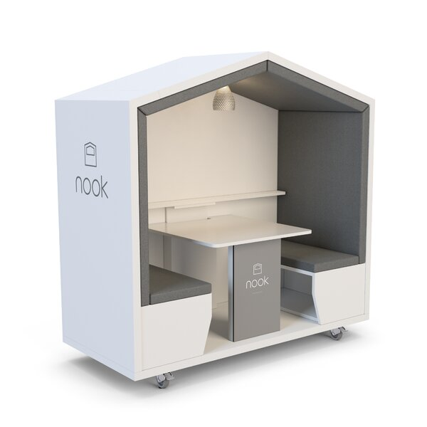 Panel Leg and Upper Wall Standard by Nook Pod