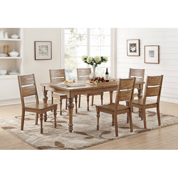 "Calila 7 Piece Extendable Dining Set by Birch Laneâ""¢ Heritage"