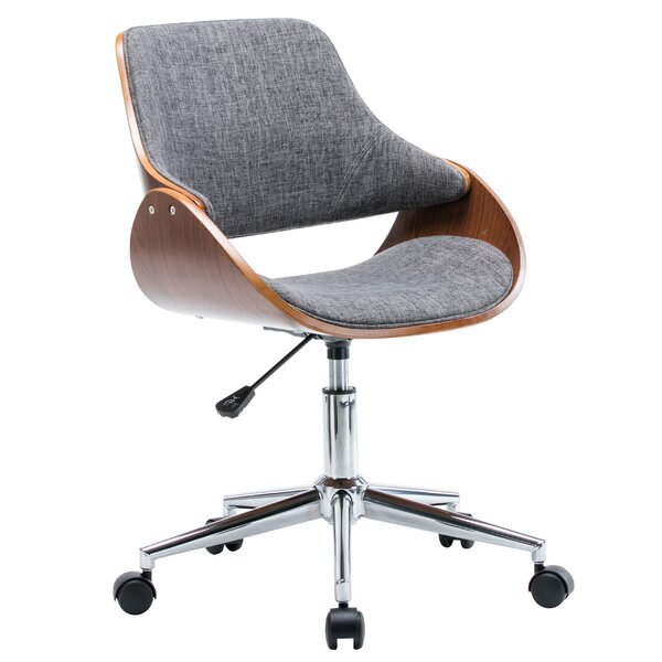 Dimatteo Adjustable Height Office Chair with Caster Wheels by George Oliver