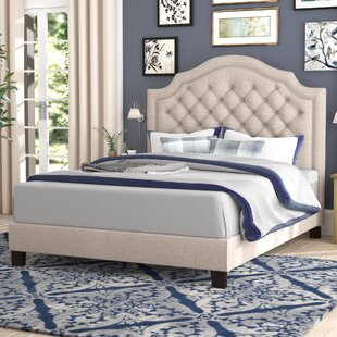 Julia Upholstered Panel Bed