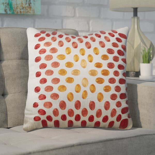 Hill Poly Slub Throw Pillow by Brayden Studio