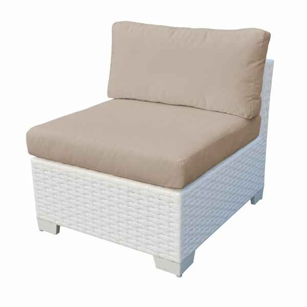 Burgoon Patio Chair with Cushions by Orren Ellis Orren Ellis