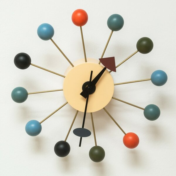 Garret 13 Ball Wall Clock by Corrigan Studio