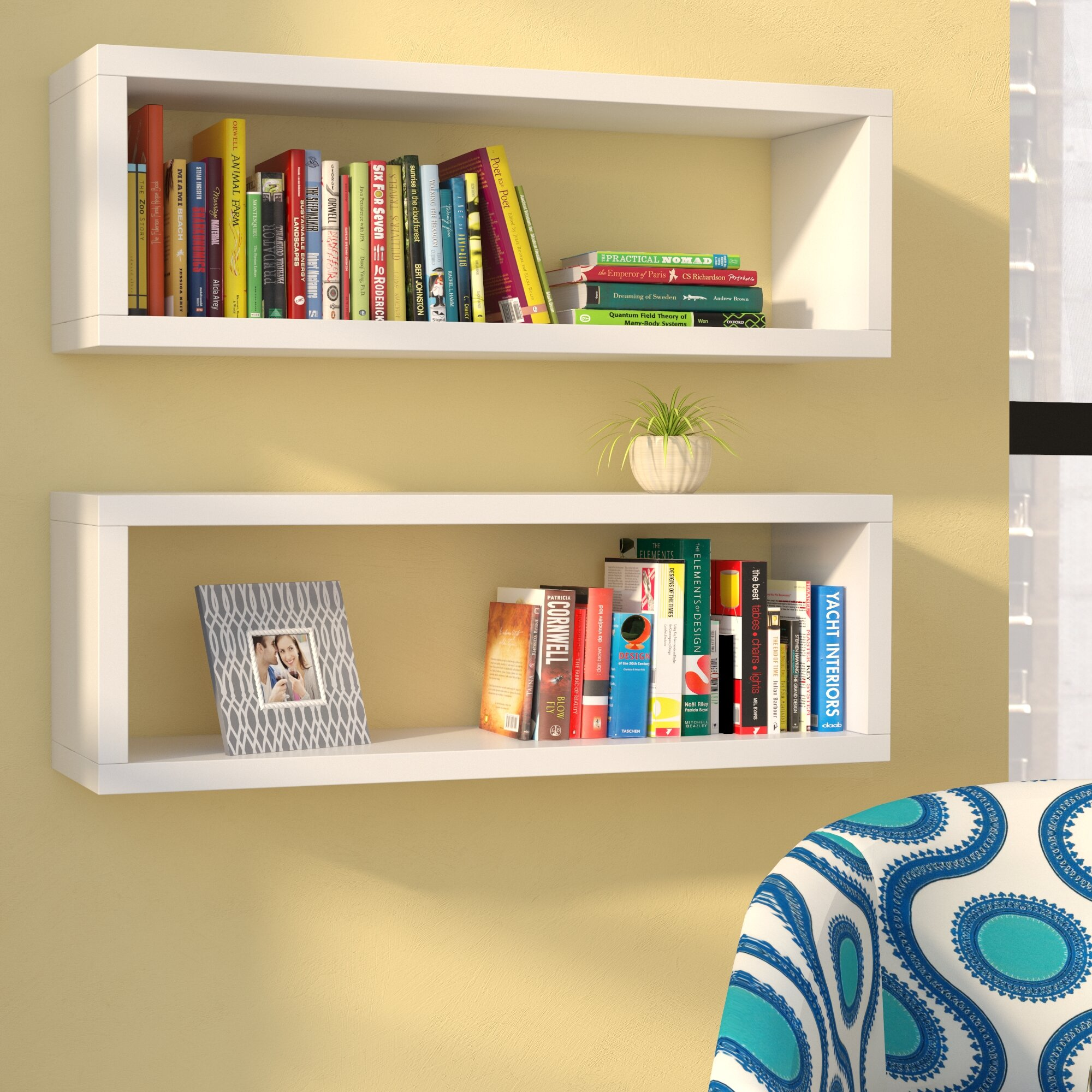 Zipcode Design Erica Rectangle Floating Shelf & Reviews | Wayfair