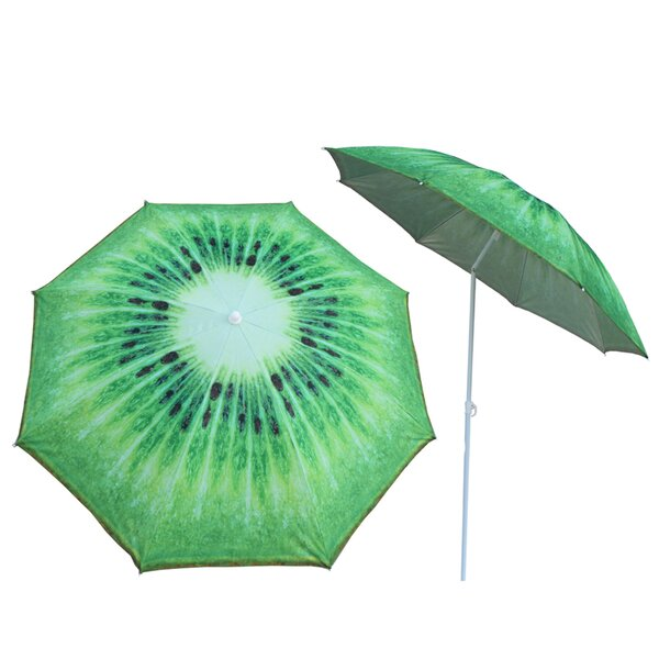 Zimmerman 5'2-inch Kiwi Beach Umbrella by Rosecliff Heights Rosecliff Heights