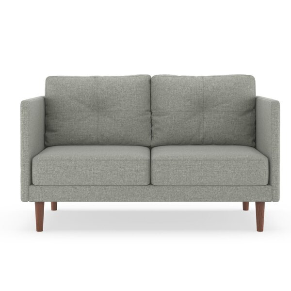 Deals Price Rockwood Linen Weave Loveseat