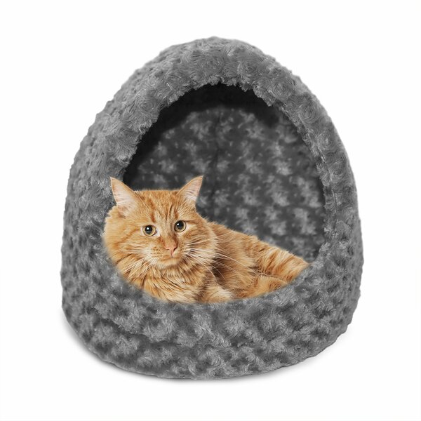 Hornell Ultra Plush Hood Cat Bed by Tucker Murphy Pet