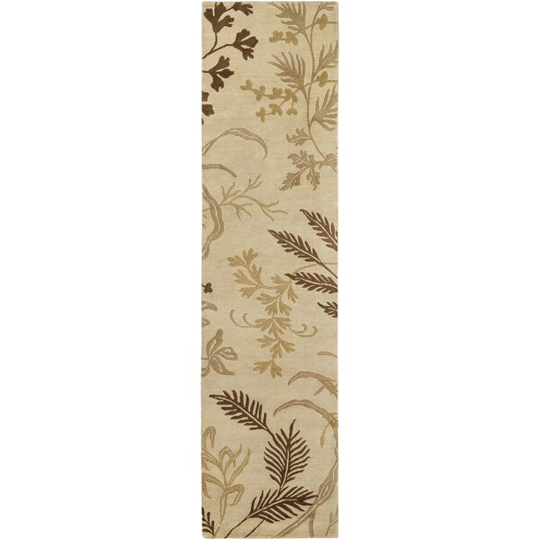 Howland Hand Knotted Wool Beige Rug