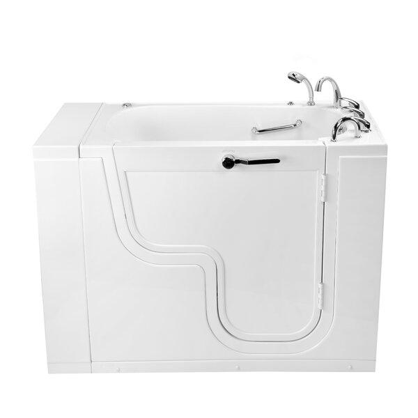 Transfer26 Wheelchair Accessible Acrylic Hydro 26 x 26 Walk-In Bathtub by Ella Walk In Baths