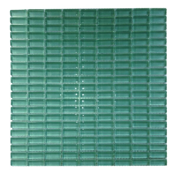 Epiphany 0.5 x 1.25 Glass Mosaic Tile in Blue by Abolos