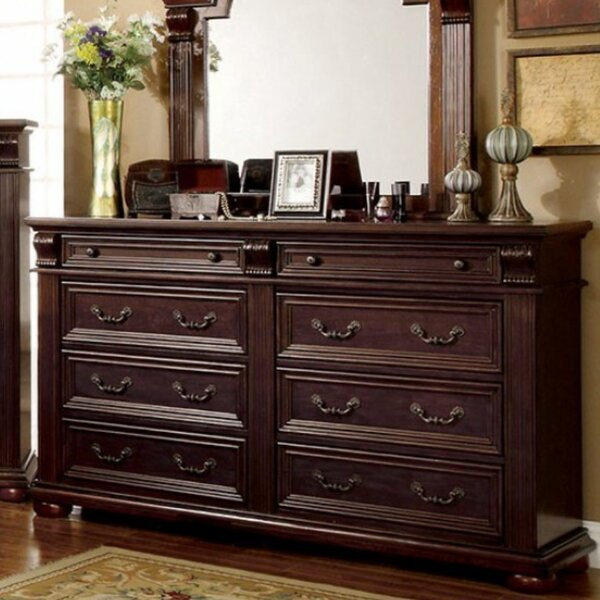 Creevery Spacious 8 Drawer Double Dresser by Astoria Grand