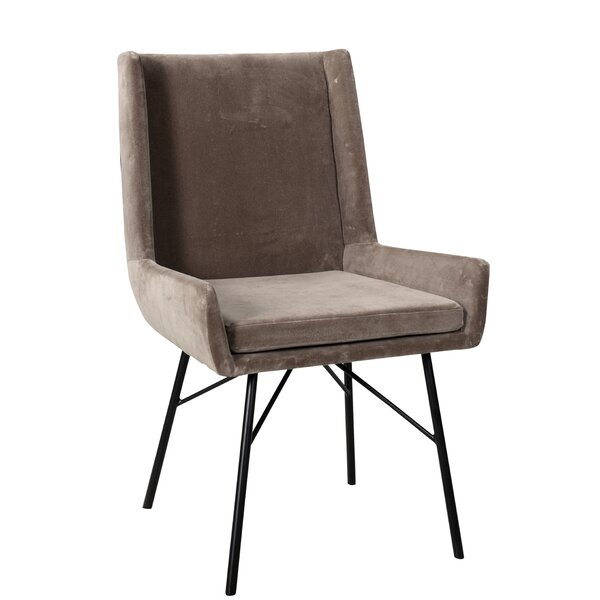 Karren Velvet Upholstered Arm Chair By Brayden Studio