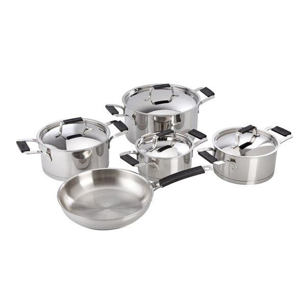 Premier Stainless Steel 9 Piece Cookware Set by Magefesa
