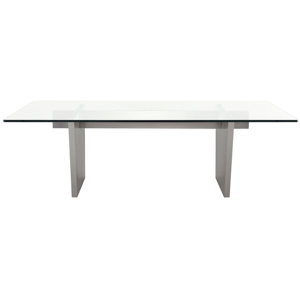 Chiara Dining Table by Orren Ellis Orren Ellis