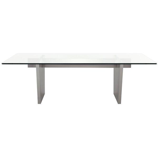 Chiara Dining Table by Orren Ellis Orren Ellis