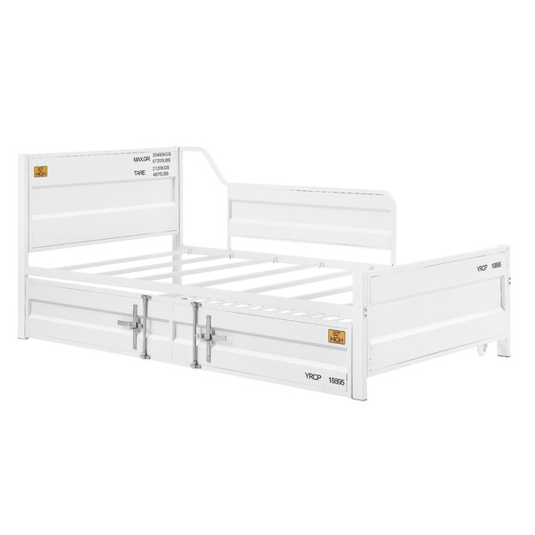 Thompson Cargo Twin Daybed With Trundle By 17 Stories