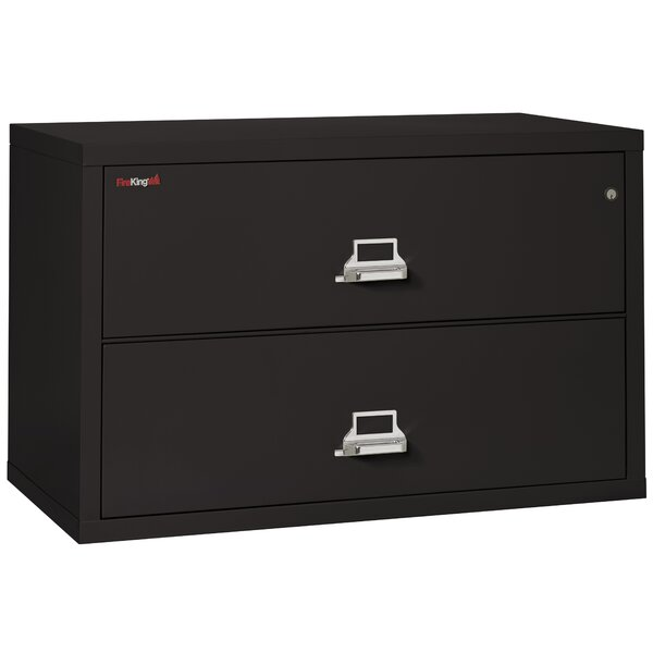 Fireproof 2-Drawer Lateral File Cabinet