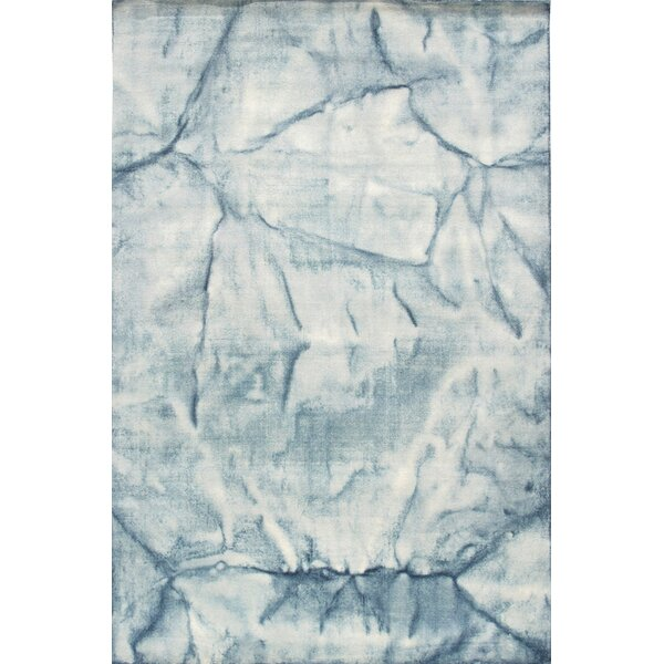 Allure Hand-Loomed Blue/Beige Area Rug by Pasargad
