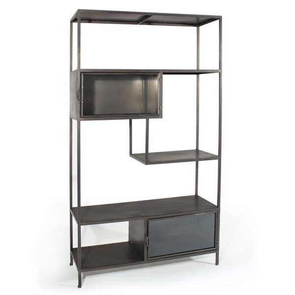 Irving Geometric Bookcase By 17 Stories