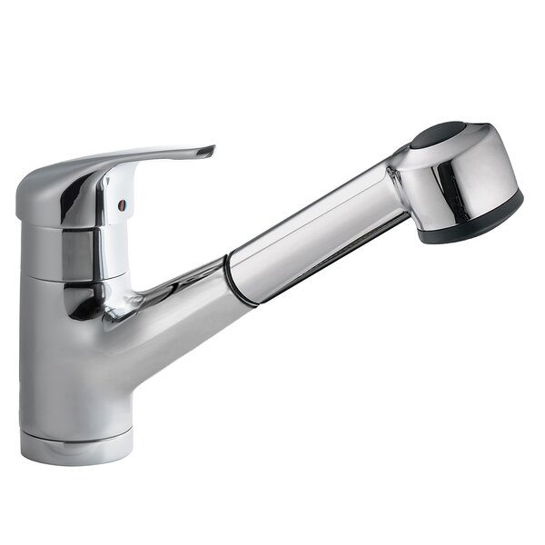 Transitional Pull Out Single Handle Kitchen Faucet By Concinnity