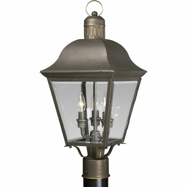 Triplehorn 3-Light Lantern Head in Bronze by Alcott Hill