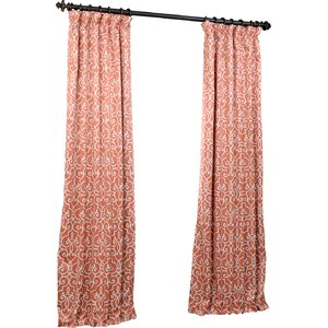 Seminole Manor Blackout Thermal Rod Pocket Single Curtain Panel