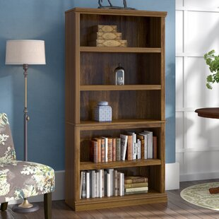 Top Reviews Abigail Standard Bookcase By Three Posts