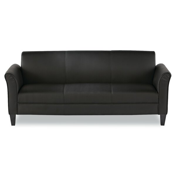 Perfect Brands Deguzman Leather Sofa by Ebern Designs by Ebern Designs
