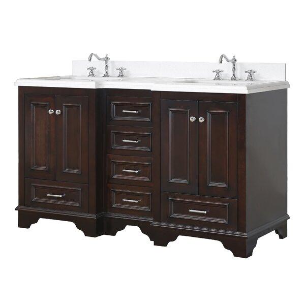 Nantucket 60 Double Bathroom Vanity Set by Kitchen Bath Collection
