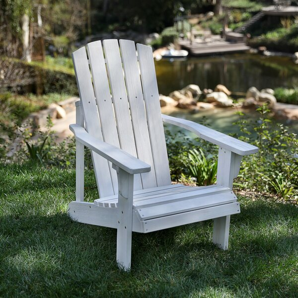Lakewood Adirondack Chair by Highland Dunes Highland Dunes