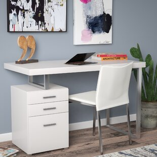 Charmant Writing Desk With File Cabinet | Wayfair