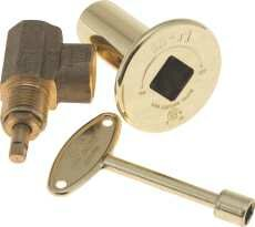 Lighter Key Globe Valve Brass Fireplace Tool by National Brand Alternative