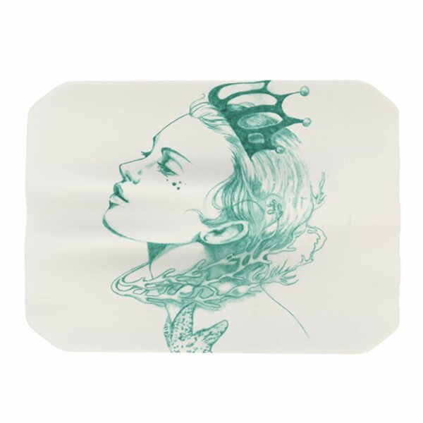 Queen of the Sea Placemat by KESS InHouse