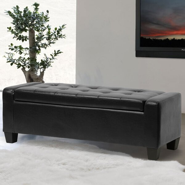 Dascomb Storage Ottoman By Alcott Hill Great Reviews