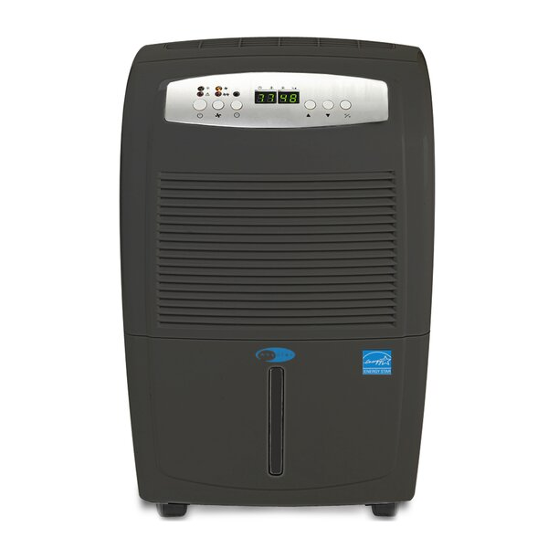 50 Pint Portable Dehumidifier with Casters by Whyn