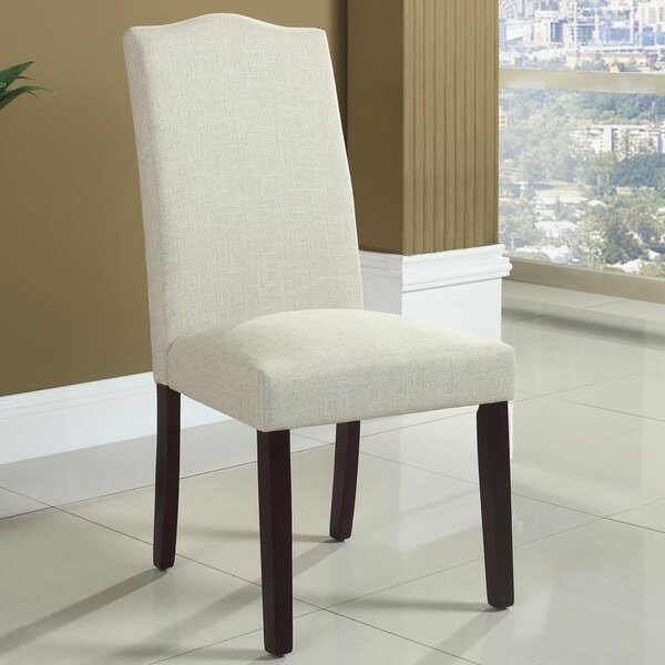 Side Upholstered Dining Chair (Set of 2) by BestMasterFurniture